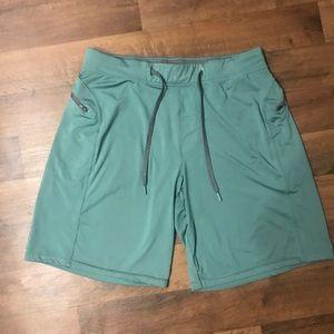 Hylete Helix II Green Shorts